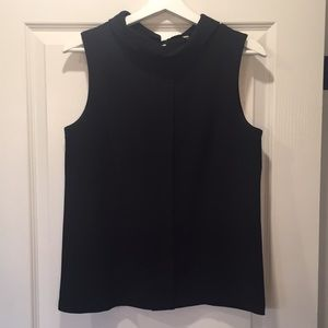 Black Sleeveless Banana Republic Blouse